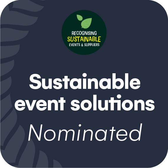 Sustainable Awards – Most sustainable event solutions